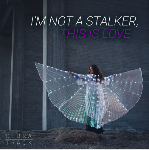Cebratrack - I'm ot a Stalker, This is Love EP | Album Art