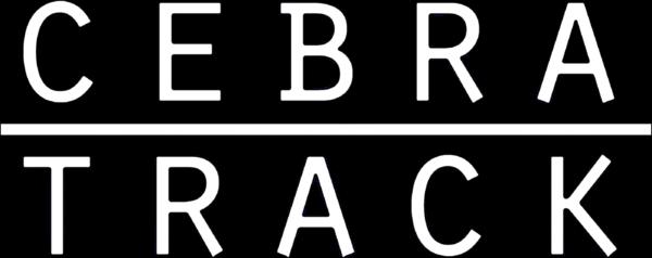 Cebratrack logo 2019  white + black outline